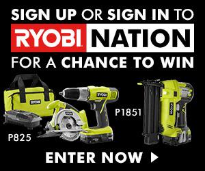 Ryobi Nation Giveaway