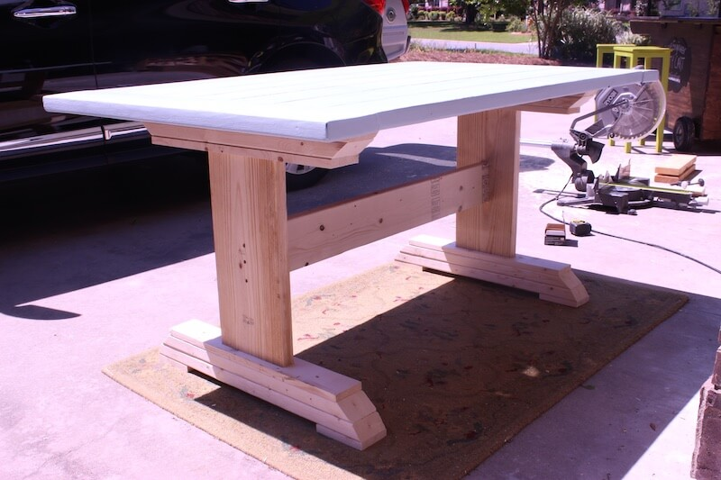 DIY Monastery Dining Table Plans - Step 5
