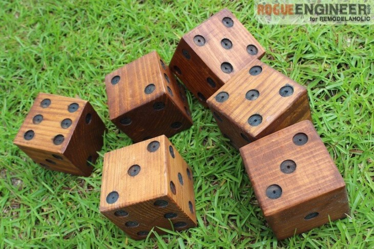 DIY Yard Dice - Rogue Engineer