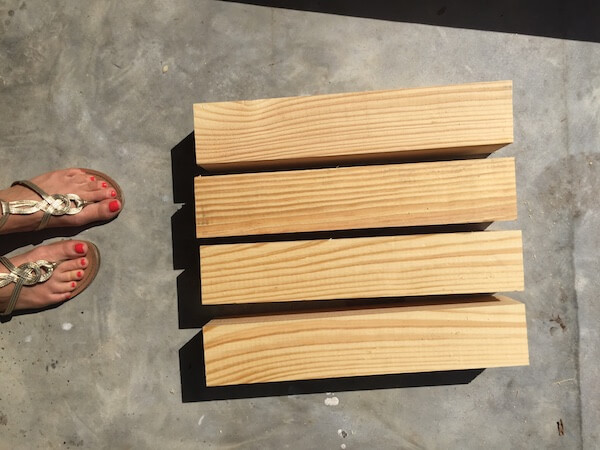 Square Plank Coffee Table Plans - Rogue Engineer 3