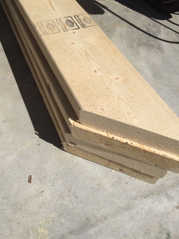 Square Plank Coffee Table Plans - Rogue Engineer 5