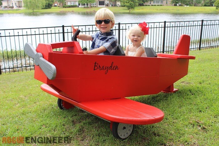 Airplane Play Structure { Free DIY Plans } Rogue Engineer