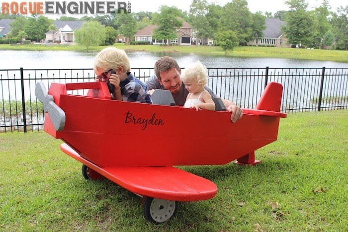 DIY Airplane Play Structure Plans - Rogue Engineer