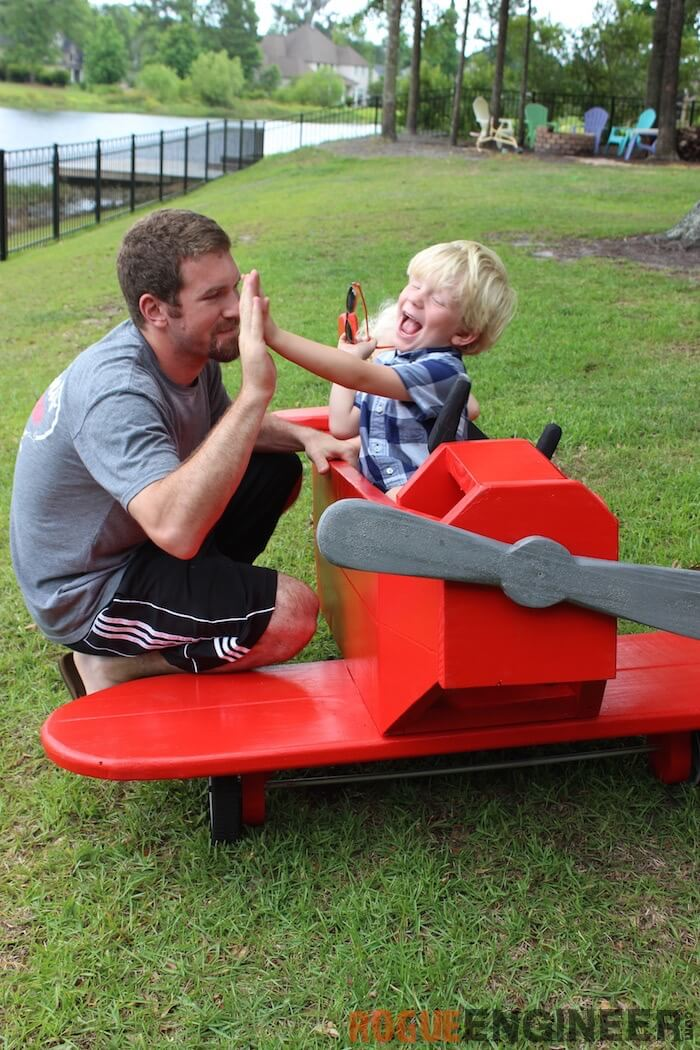 Airplane Play Structure Free Diy Plans Rogue Engineer