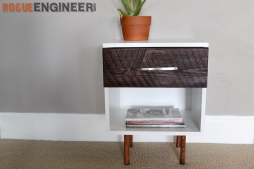 DIY Mid Century Modern Side Table Plans - Rogue Engineer