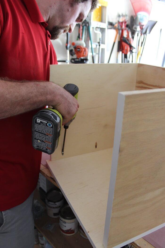 DIY Mid Century Modern Side Table Plans - Step 1