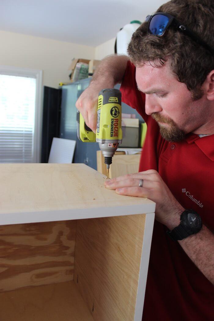 DIY Mid Century Modern Side Table Plans - Step 2