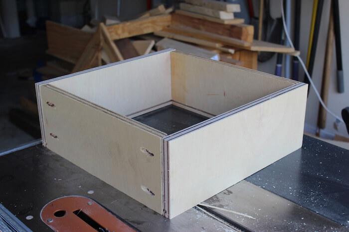 DIY Mid Century Modern Side Table Plans - Step 3