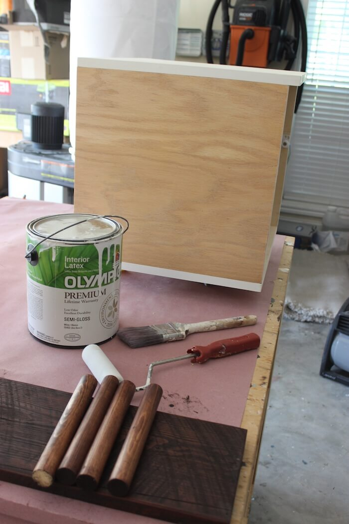 Paint the box and drawer