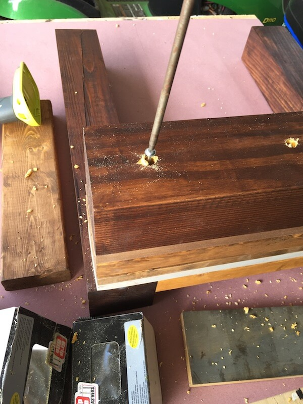 DIY Scrap wood side Table Plans -  4
