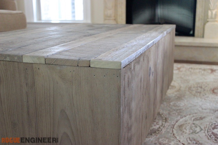 DIY Modern Floating Coffee Table - Rogue Engineer 6