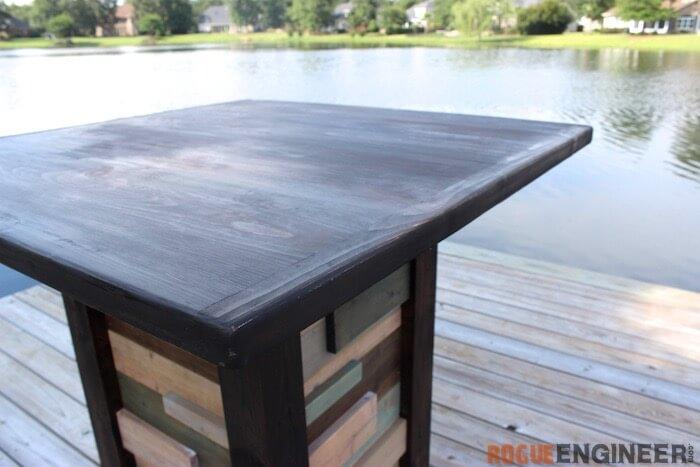 Modern Reclaimed Pub Table - DIY Plans - Rogue Engineer