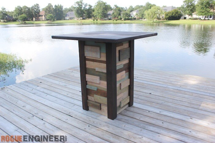 Modern Reclaimed Pub Table   DIY Plans   Rogue Engineer. Modern Reclaimed Pub Table   DIY Plans   Rogue Engineer