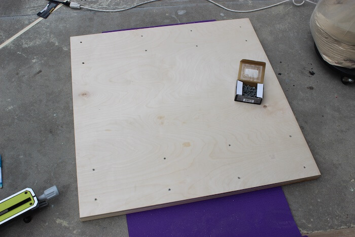 Modern Reclaimed Pub Table - Step 6