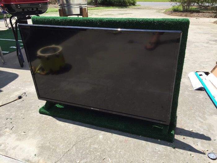 DIY Tailgate TV Stand - 11