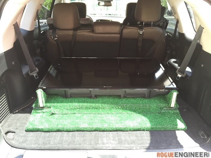 DIY Tailgate TV Stand - 13