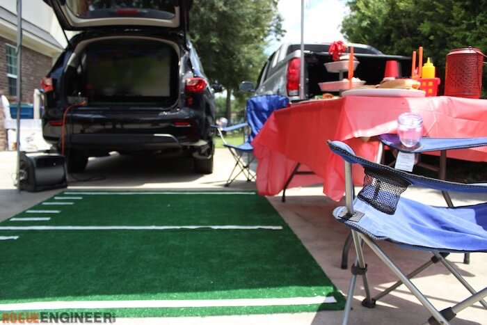 DIY Tailgate TV Stand - 15
