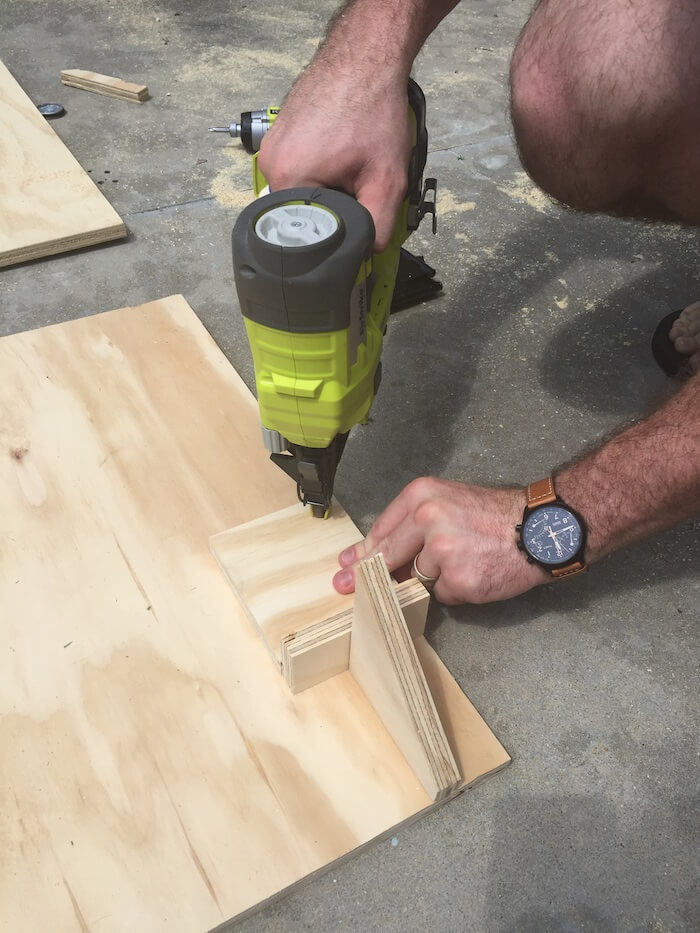 DIY Tailgate TV Stand - 2