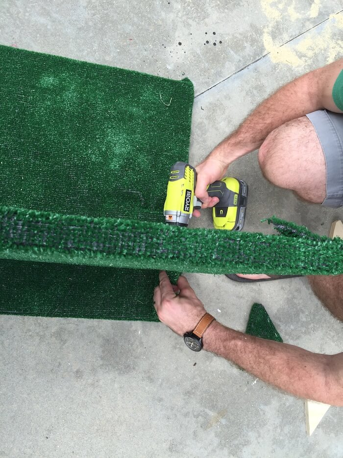 DIY Tailgate TV Stand - 8