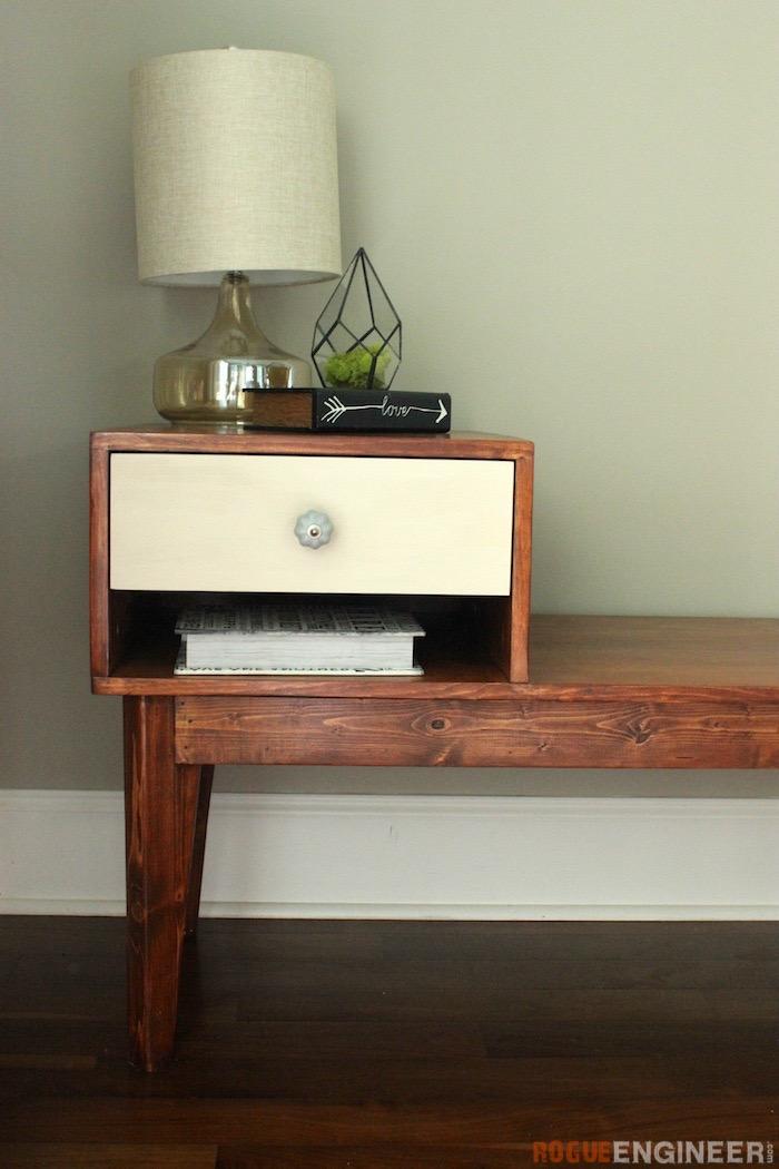 DIY Telephone Table Plans - Rogue Engineer 2
