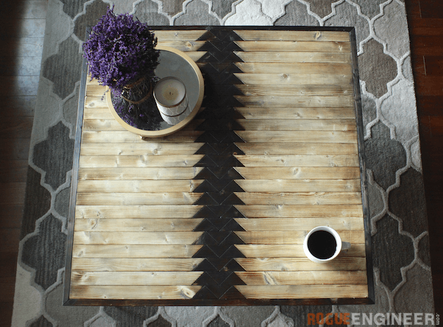Tribal Hairpin Coffee Table - Free DIY Plans - Rogue Engineer