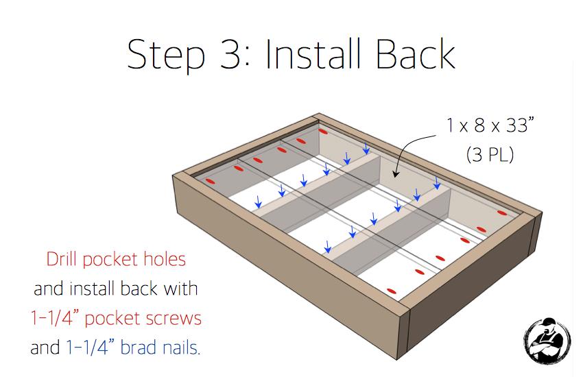 Apothecary DIY Wall Shelf Plans - Step 3
