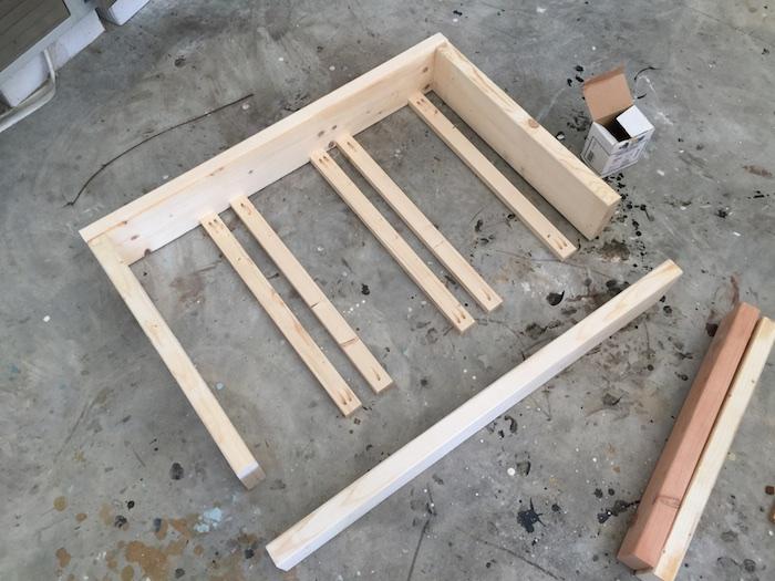 Apothecary DIY Wall Shelf - Step 1
