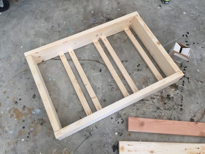 Apothecary DIY Wall Shelf - Step 2
