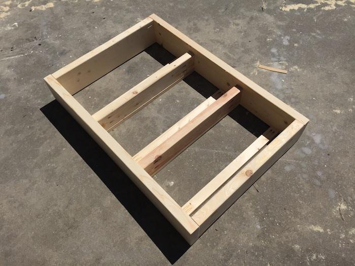 Apothecary DIY Wall Shelf - Step 3