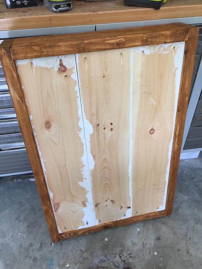 Apothecary DIY Wall Shelf - Step 4
