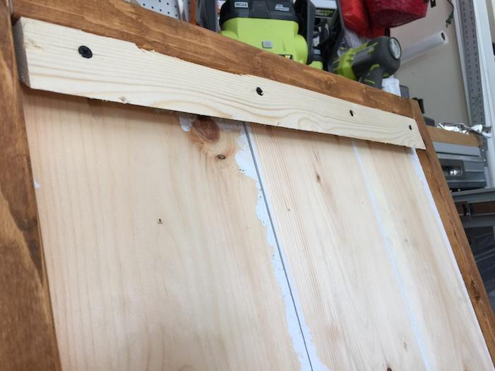 Apothecary DIY Wall Shelf - Step 5