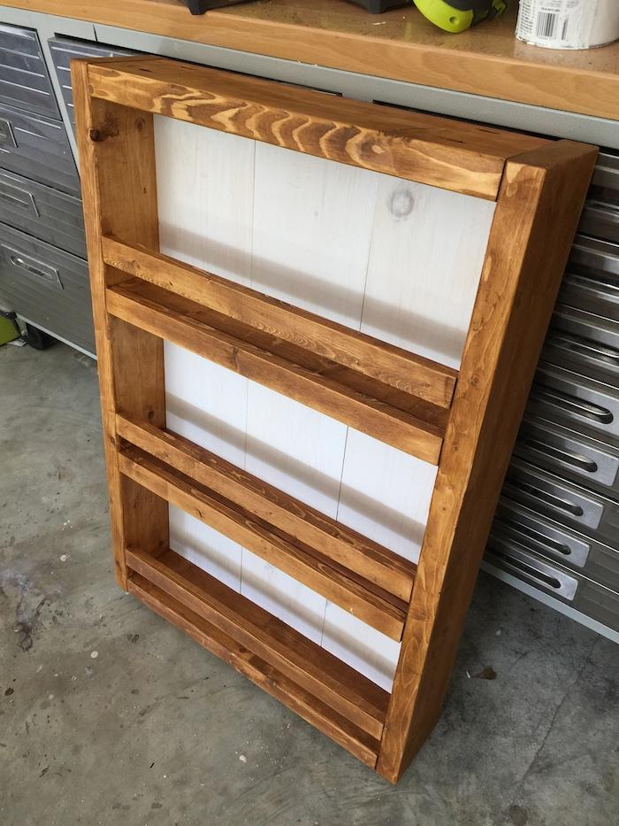 Apothecary DIY Wall Shelf - Step 6