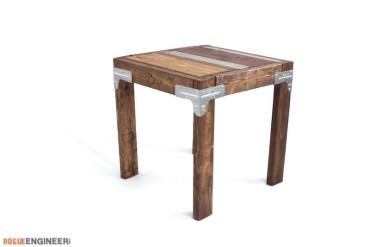 Industrial Side Table Tutorial - Rogue Engineer 1