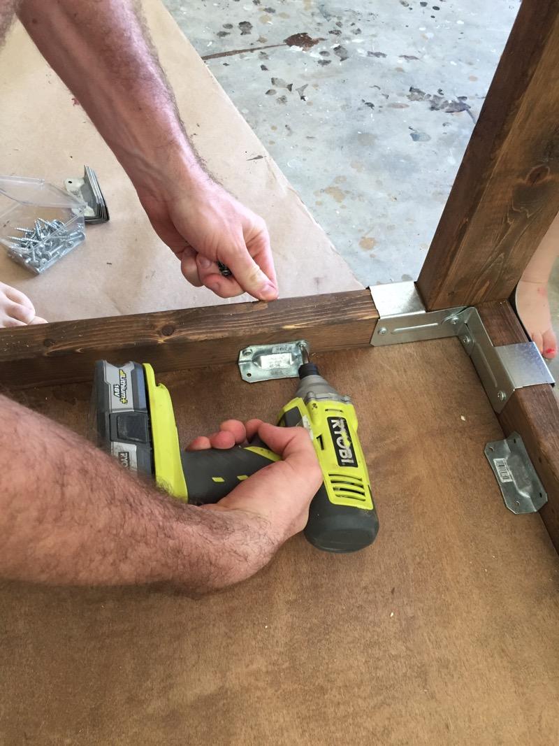 DIY Industrial Coffee Table - Step - 3