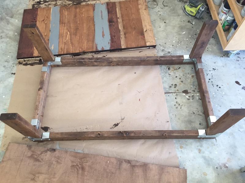 DIY Industrial Coffee Table - Step - 4