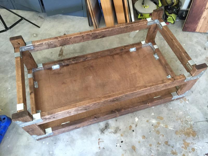 DIY Industrial Coffee Table - Step - 5