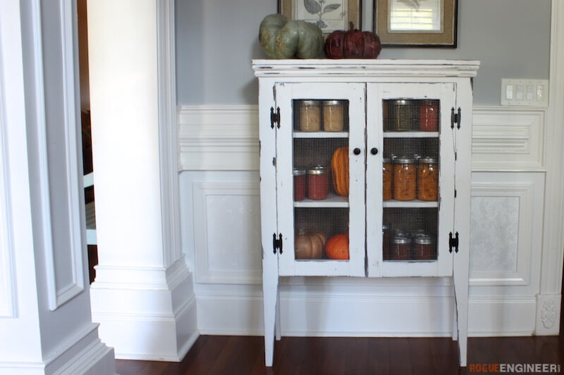 Jelly Cabinet { Free DIY Plans } Rogue Engineer