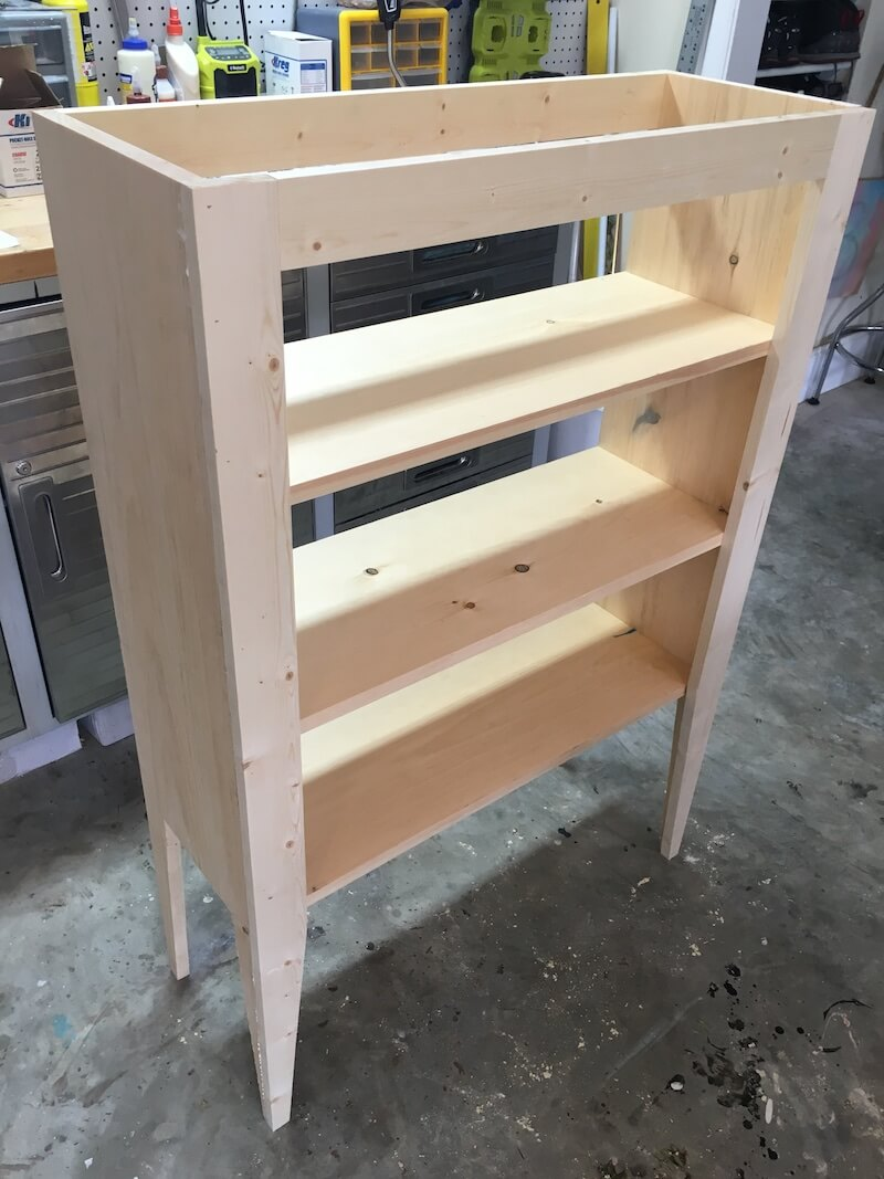 DIY Jelly Cabinet Plans - Step 6