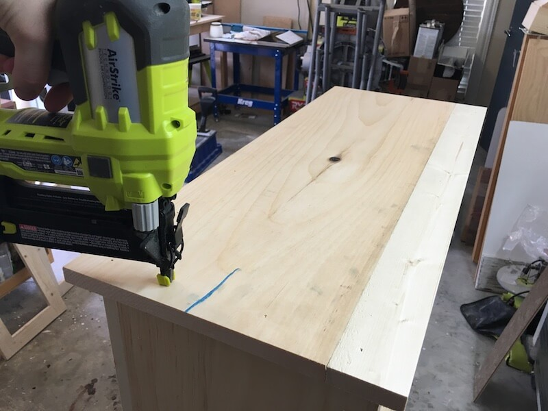 DIY Jelly Cabinet Plans - Step 8