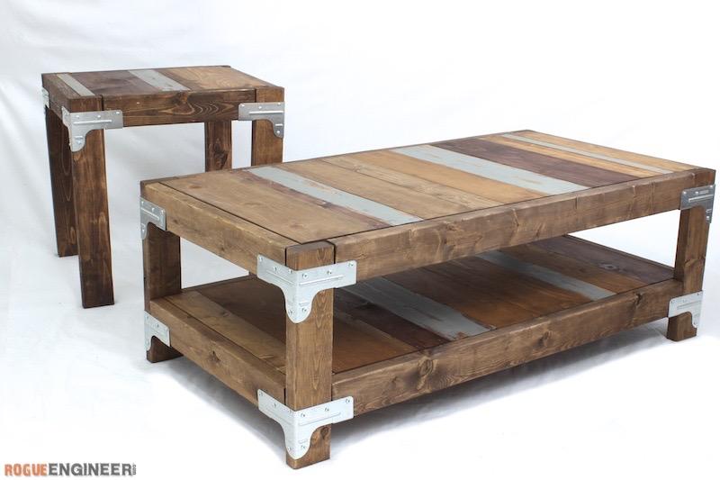 Industrial Coffee Table Plans - Rogue Engineer 1