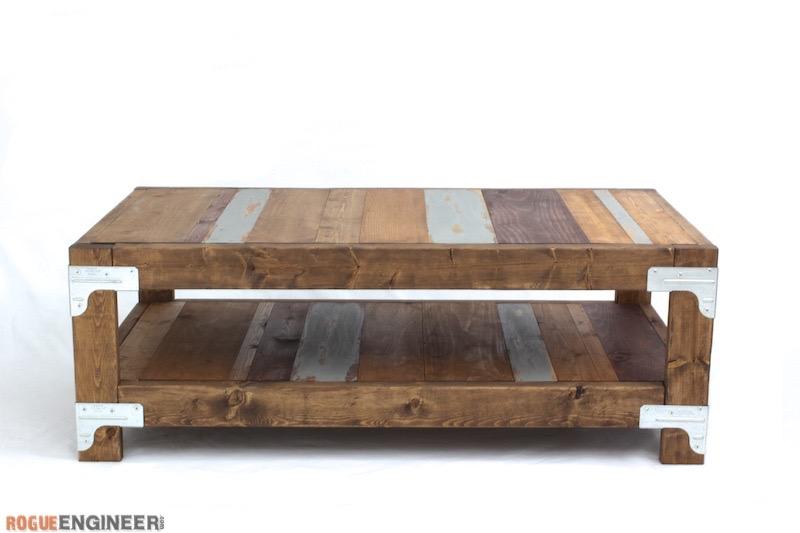Industrial Coffee Table Plans - Rogue Engineer 2