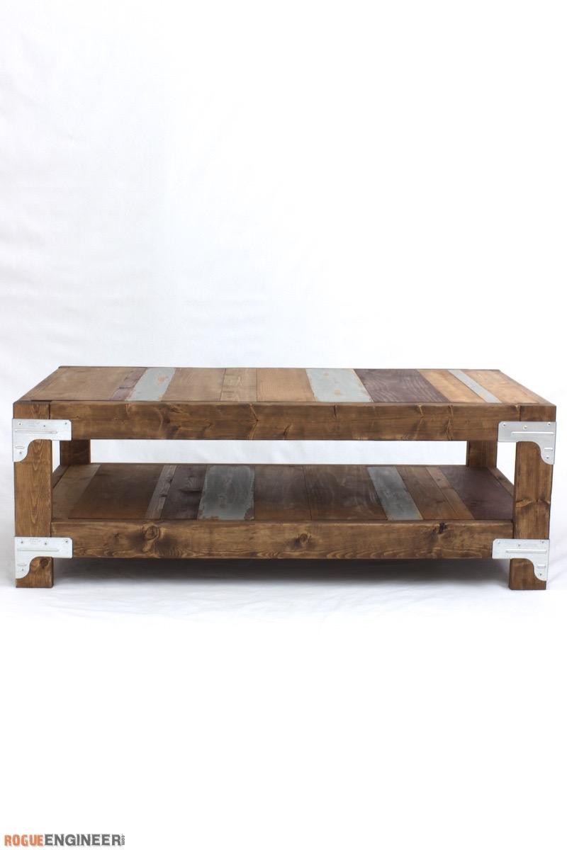 Industrial Coffee Table Plans - Rogue Engineer 3