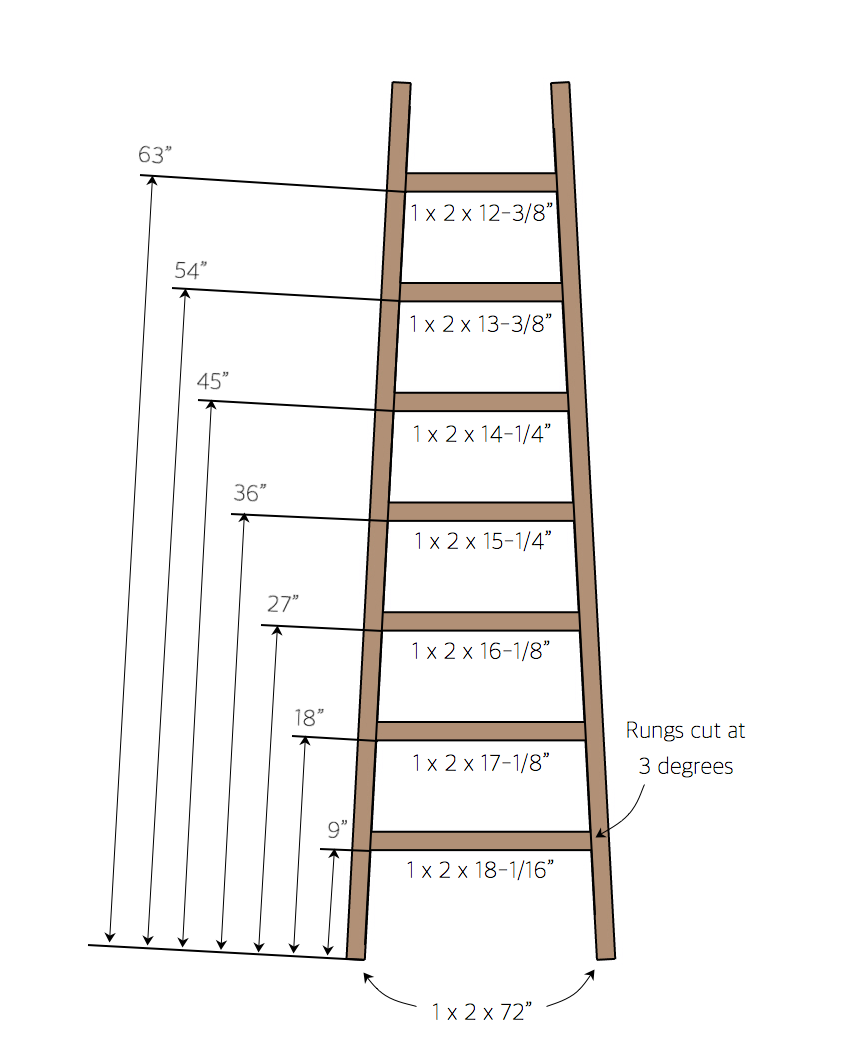 Advent Ladder - Assembly Instructions