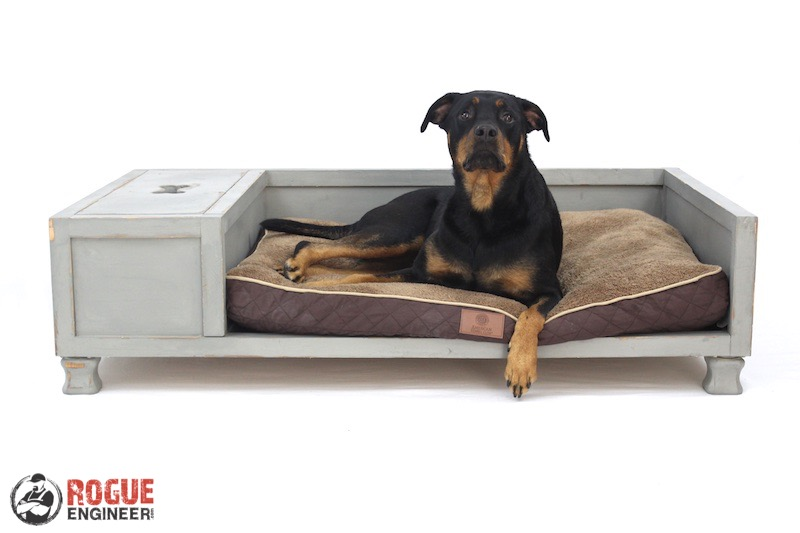 DIY Large Dog Bed Plans Rogue Engineer