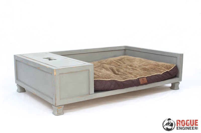 DIY Large Dog Bed Plans - Rogue Engineer 5
