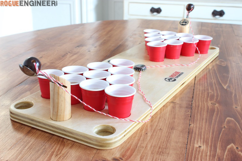 DIY Mini Beer Pong Game Rogue Engineer : DIY Mini Beer Pong Rogue Engineer 3 from rogueengineer.com size 800 x 533 jpeg 123kB