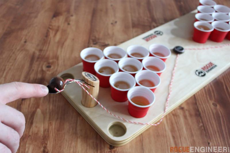 DIY Mini Beer Pong - Rogue Engineer 5