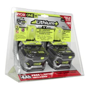 Ryobi High Capacity Batteries