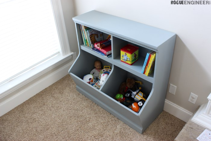 Bookcase with Toy Storage 3 - Rogue Engineer