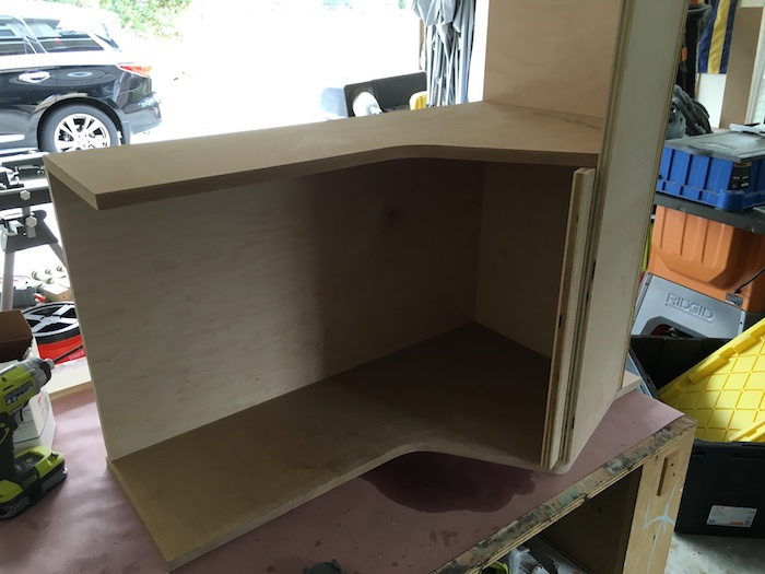 DIY Bookcase with Toy Storage Plans - Step 6